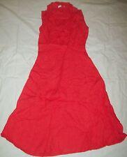 George Linen Sleeveless Dresses for Women