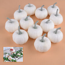12PCS Halloween Artificial Small Foam Pumpkins Simulation Props Home Party Decor