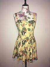 Hell bunny Birds Of Paradise Mini Dress M/12