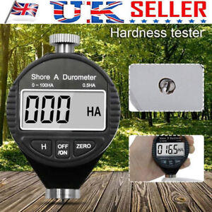 Digital Hardness Durometer Type A Tire Rubber Tester LCD Meter for Shore 0~100HA