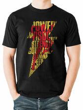 Shazam Lightning Poster Official Captain Marvel DC Comics Black Mens T-shirt