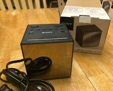 Sony ICF-C1T AM/FM Dual Alarm Clock Radio ICFC1T Black FAST SHIPPING