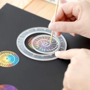 Spirograph Drawing Toys Set Interlocking Gears Wheels Painting Drawing Accessori