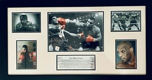 Mike Tyson Framed Photo Montage Fathers Day Gift