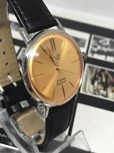 Men's Watch Poljot Ultra slim de luxe Soviet Vintage Mechanical Watch USSR