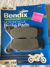 BENDIX DISC BRAKE PADS MA154 NOS HONDA FRONT CB400 92-98 REAR ST1100