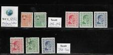 WC1_6952. LITHUANIA. Valuabe lot of 1936-37 sets. Scott 296-300. MH-MLH & Used