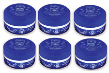 6 x Bandido Aqua Hair Gel Wax Blue - 150ml - Maximum Hold Pomade - Bubblegum
