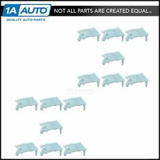 OEM Door Belt Molding Retainer Front LH RH Side Set of 14 for Hyundai Accent New