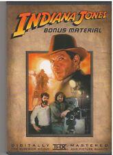 INDIANA JONES BONUS MATERIAL  (DVD, 2003) INCLUDES INSERT