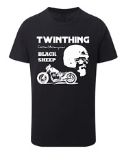 TWINTHING CUSTOM MOTORCYCLES - OFFICIAL BLACK SHEEP T-Shirt