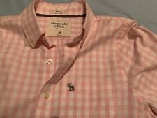 Abercrombie And Fitch Camisa Hombre Músculos Casual Verano