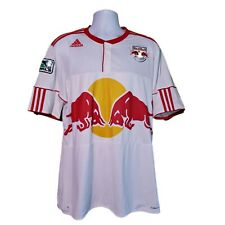 Adidas New York Red Bulls MLS Soccer Jersey XL Clima Cool Patches