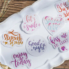 45PCS Cute Mood Japanese Stationery Stickers for DIY Scrapbooking Diary HOT #LEC
