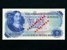 South Africa:P-117as,2 Rand,1974 * Specimen * Jan van Riebeeck * UNC *