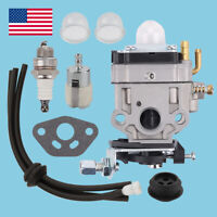 Carburetor Kit For Earthquake Huskee MC43ETSC MC43TSC Tiller Cultivator Carb