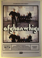 THE AFGHAN WHIGS Official UK Gig Promo POSTER cd In Spades twilight singers
