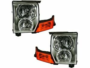 For 2006-2010 Jeep Commander Headlight Assembly Set 78627DR 2007 2008 2009