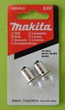 MAKITA - 9.6V BULB SET - p/n 192545-3