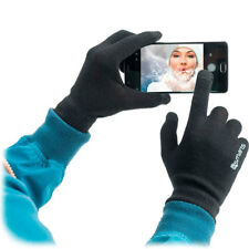 Guanti invernali touch 4smarts UNISEX caldi regalo per smartphone tablet iphone