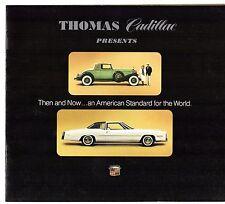 CADILLAC 1975 USA brochure di vendita del mercato Calais Deville Eldorado Fleetwood