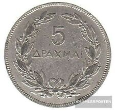 Griechenland KM-Nr. : 71 1930 sehr schön Nickel 1930 5 Drachmen Phönix