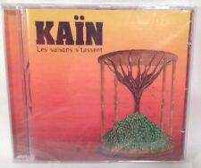 Les Saisons S'tassent by Kain (CD, Sep-2007, Passeport) New Sealed