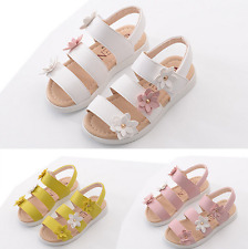 Uk Girls Cute Toddler Children Beach Sandals Size 5 Infant11.5 Kids Shoes E402-3