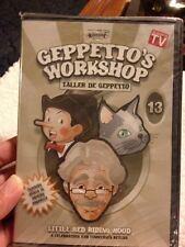 Geppetto's Workshop Dvd Little Red Riding Hood