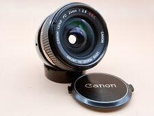 Canon FD 24mm 2.8 1:2,8 SSC / Objektiv / Lens / Analog / Weitwinkel / Vintage