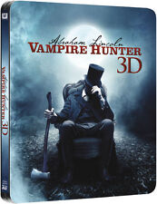 Abraham Lincoln Vampire Hunter 3D Limited Edition Steelbook Blu-ray 3D UK NEW