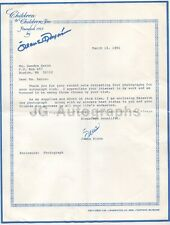 Jeane Dixon - Predicted Death of John F. Kennedy - Signed Letter (TLS), 1991