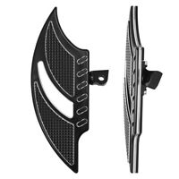 Passenger Stretched Floorboards Front Floor Board Inserts For Harley Touring BT2