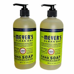 Mrs. Meyer's Clean Day Hand Soap 2-Pack Lemon Verbena Scent Olive Oil Aloe Vera