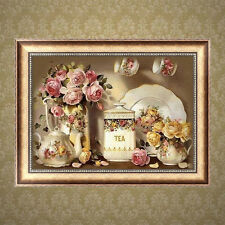 Vase 5D Diamond Embroidery DIY Craft Painting Cross Stitch Mosaic Home Decor