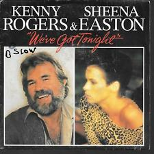 "45 TOURS / 7"" SINGLE--KENNY ROGERS & SHEENA EASTON--WE'VE GOT YONIGHT--1983"