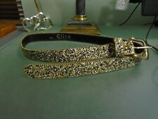ELITE Women's Sparkle Bling Belt Size L