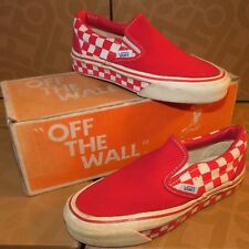 VANS #98 Slip On '70s Skateboard Shoes Vintage Made in the USA Trainers 3 RWCQ