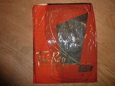 Bas nylon fully fashioned couture stockings  100% vintage noir T2
