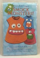 2011 Smock Monsters Sewing Pattern Childrens Craft Apron Painting Cover Up 2498F