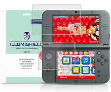 iLLumiShield Matte Screen Protector w Anti-Glare 3x for Nintendo 3DS XL 2015
