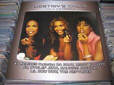 DESTINY CHILD 2 LP THIS IS THE REMIX ENGLAND ROCK NEO SOUL R&B POP BEYONCE NEW