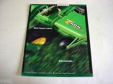 John Deere Z-Trac Mowers and more Full Line Mower Brochure         b4