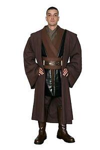 Star Wars Anakin Skywalker Costume and Robe in Brown - Film Set Quality