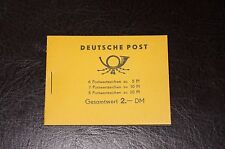 Very Rare Germany DDR MH2 Complete Booklet (Gesamtwert 2)