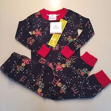 HANNA ANDERSSON Boy's/Girls HOLIDAY Pajama Set,3 years,90 cm NWT!! EXQUISITE!