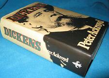 Dickens - Peter Ackroyd. 1993  HbDj  UNread!  MOST unusual biography   in MELB