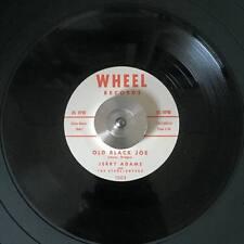 '59 TwinSpin Rockabilly JERRY ADAMS Old Black Joe/There's a Big Wheel M- RE HEAR