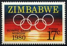 Zimbabwe 1980 SG#596 Olympic Games MNH #D50902