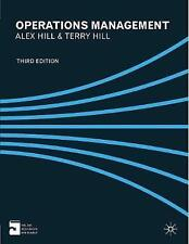 Operations Management by Terry Hill, Alex Hill (Paperback, 2012)